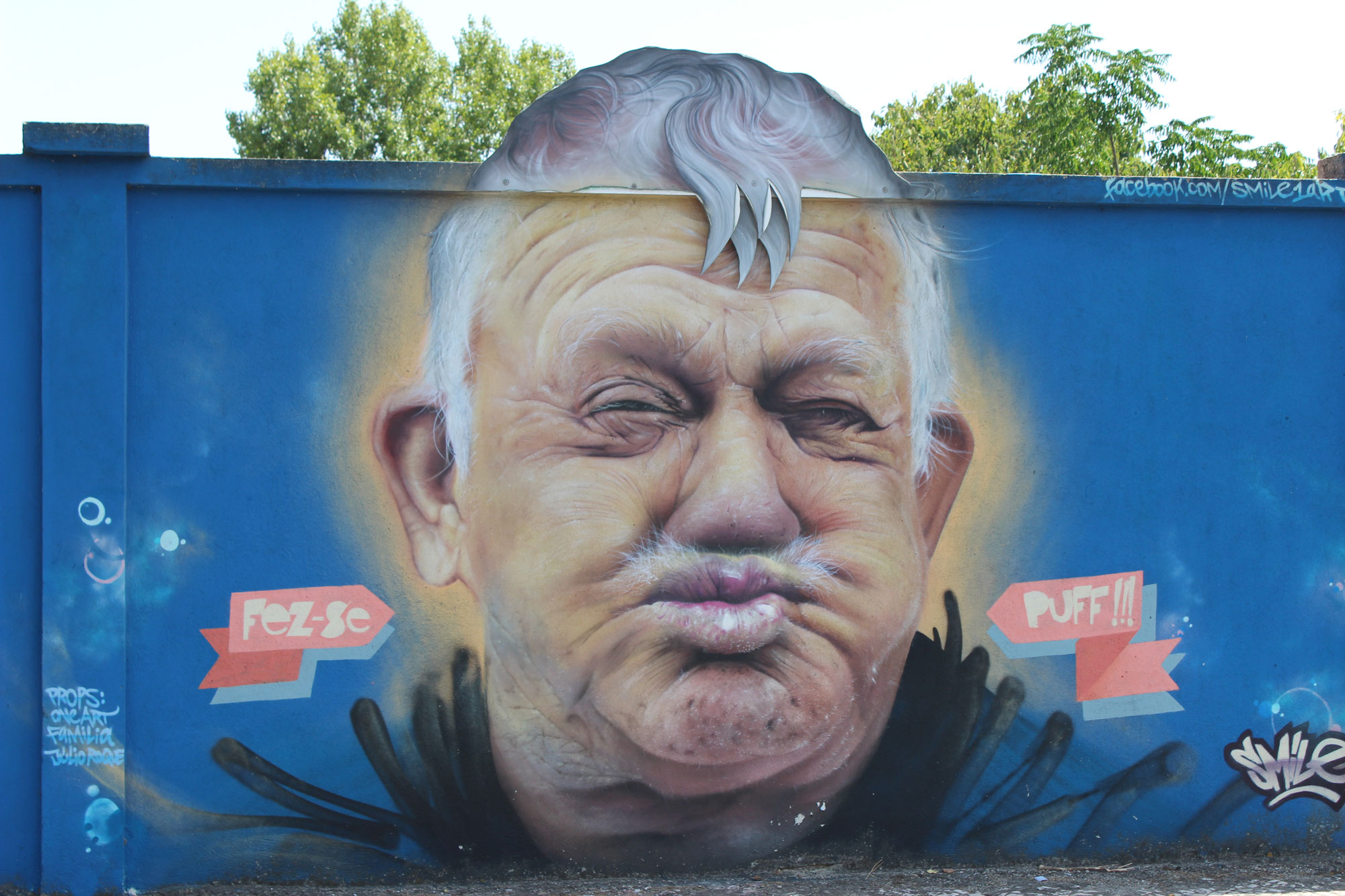 GRAFFITI TOUR  DE LISBONNE<br> (3 heures)