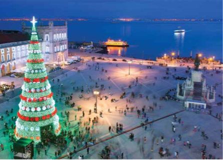 LISBON HAS BEEN ONE OF THE MOST POPULAR CITIES AT CHRISTMAS